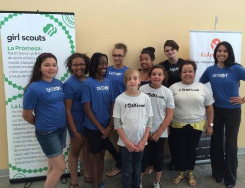 Girl Scouts Pilot AccelerateKID's (formerly known as Kidpreneur) Entrepreneurship & Web Design Camp